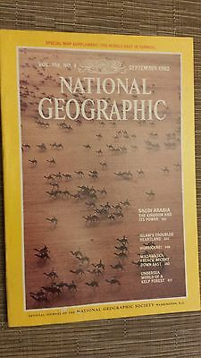 National Geographic- SAUDI ARABIA, THE KINGDOM AND ITS POWER - SEPTEMBER 1980