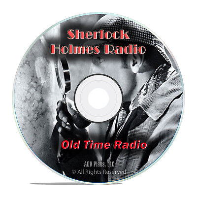 Sherlock Holmes Radio Sleuth, 755 Old Time Radio Shows, Mystery Suspense DVD G79