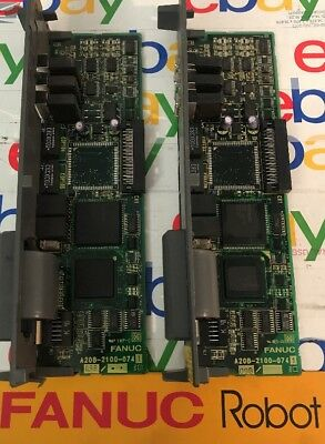 Fanuc PLC Board A20B 2100 0741 LOT OF 2!