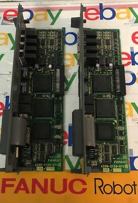 Fanuc PLC Board A20B 2100 0742 LOT OF 2!