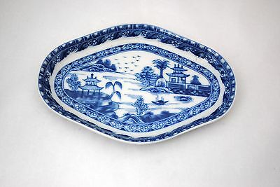Mottahedeh Blue Canton Oval Dish or Tray