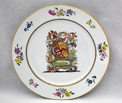 Nelson Rockefeller Collection Vista Alegre Mottahedeh Chinese Export Plate