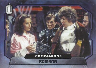 COMPANIONS C-5 Romana / Mary Tamm 4th Foil Chase Doctor Who 2015 Topps
