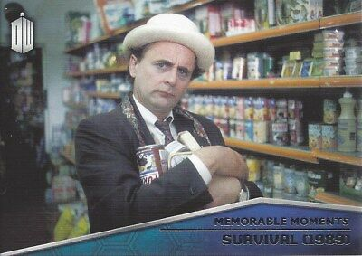 Memorable Moments MM-4 Survival 1989 Foil Chase Doctor Who 2015 Topps