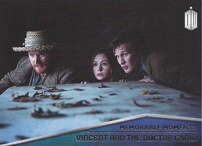 Memorable Moments MM-7 Vincent and the Doctor Foil Chase Doctor Who 2015 Topps