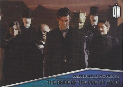 Memorable Moments MM-9 Name of the Doctor 2012 Foil Chase Doctor Who 2015 Topps