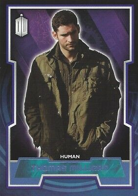 Parallel Base Card Blue 156 #188/199 Thomas Milligan Doctor Who 2015 Topps