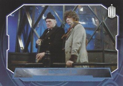 Parallel Base Card Blue 180 #174/199 Season 15 4th Fourth Doctor Who 2015 Topps