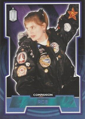 Parallel Base Card Blue 23 #165/199 Ace Companion Doctor Who 2015 Topps