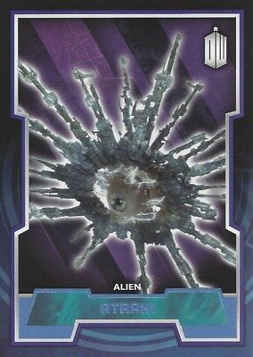 Parallel Base Card Blue 54 #045/199 Atraxi Alien Doctor Who 2015 Topps