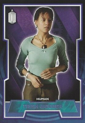 Parallel Base Card Purple 158 #67/99 Trish Webber Human Doctor Who 2015 Topps