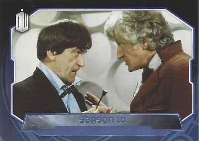 Parallel Base Card Purple 175 #68/99 2nd 3rd 4th Doctor Who 2015 Topps