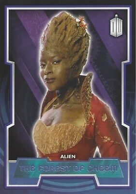 Parallel Base Card Purple 69 #89/99 Forest of Cheem Alien Doctor Who 2015 Topps