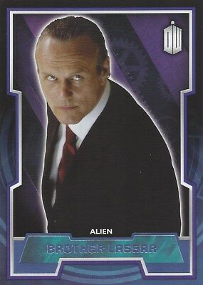 Parallel Base Card Purple 80 #35/99 Brother Lassar Doctor Who 2015 Anthony Head