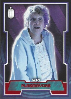 Parallel Base Card Red 90 #42/50 Plasmavore Alien Doctor Who 2015 Topps