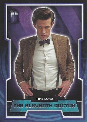 Short Print Tardis Logo Variant #11 11th Eleventh Parallel Doctor Who 2015 Topps