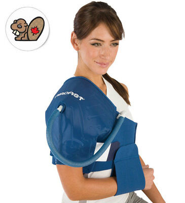 """Aircast Shoulder Cryo/Cuff with Cooler (Motorized Kit) Cuff size 32"""" - 48"""""""