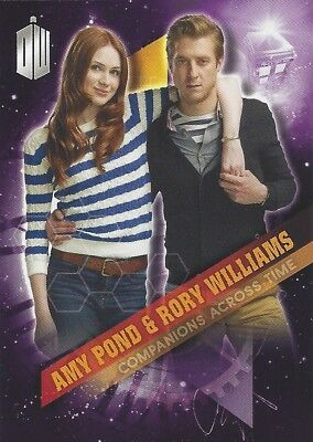 Companions Across Time 2 of 10 Amy Pond Rory Williams Doctor Who Timeless 2016