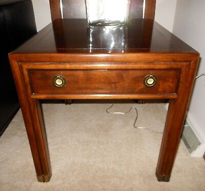 Henredon One Drawer End Table