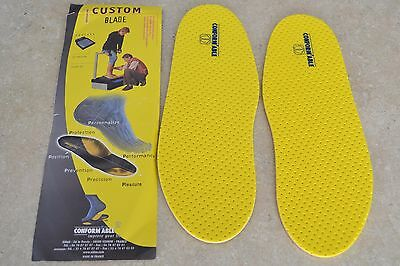 SIDAS Moldable Flat Insoles. Ski Boots,Snowboard Boots,Ice Skates,In-Line Skates