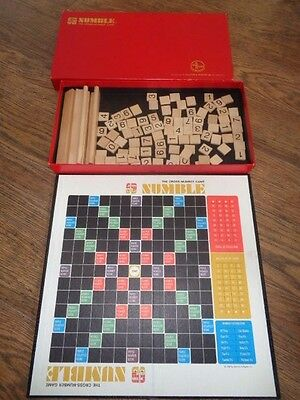 Numble - The Cross Number Game by Selchow & Righter 1968- Complete
