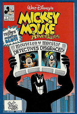 MICKEY MOUSE ADVENTURES # 3 (Disney Comics 1990)  (vf)
