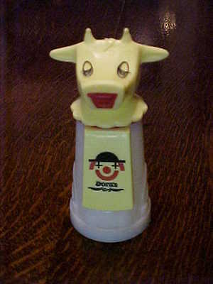 Vintage 70S Whirley Moo Cow  Childs Sippy Cup Creamer  Dora's Conklin