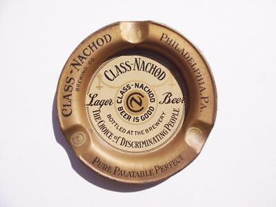 Early 1900's Class Nachod Beer Advertising Ashtray Philadelphia Brewery