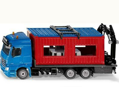 1:50 Scale Truck with Construction Container - Siku