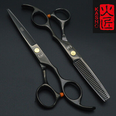 2pcs 6.0 Inch Hair Scissors Pro Shears Cutting Barber Salon Thinning Hairdressin