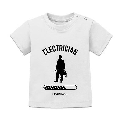 Electrician Loading Baby T-Shirt
