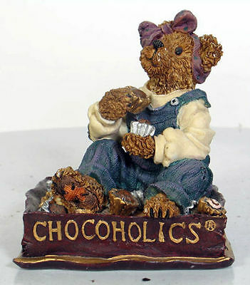 Boyd's Bears - Fannie Sweetcheeks ... Never Enough Chocolate 2000 Figurine