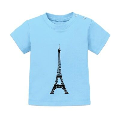 Eiffel Tower Baby T-Shirt