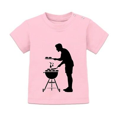 Griller Silhouette Baby T-Shirt