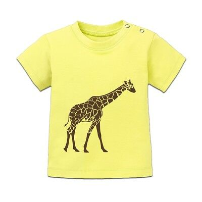 Giraffe Illustration Baby T-Shirt