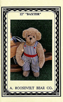 Baxter the Bear 12in - Pattern