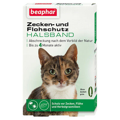 Beaphar ixodes et protection Anti-puce collier chat 35 cm, NEUF