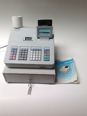 sharp cash register xe a207w manual