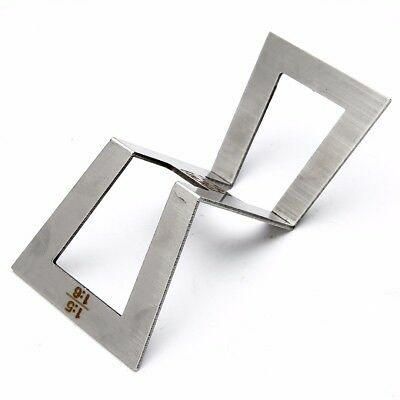 Stainless Steel Dovetail Template Marker Size 1:5-1:6 and 1:7-1:8 Accurate