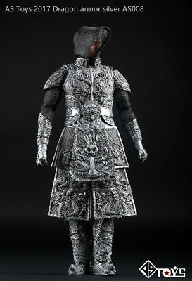 """AS Toys Ancient Sliver General Knight Armor AS008 1/6 Scale F 12"""" Action Figures"""