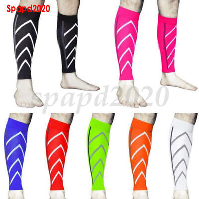 1Pair Calf Support Graduated Compression Leg Sleeve Sport Socks Outdoor Exercise