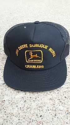 Vintage John Deere Dubuque Works Crawlers Hat