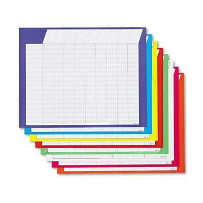 TREND® Horizontal Incentive Chart Pack, 28w x 22h, Assorted Color 078628739022