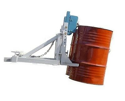 Forklift Drum Lifter Grab O Matic Twin Drum Lifter