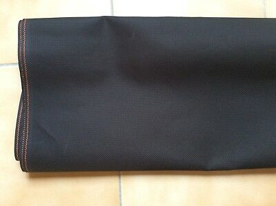 AIDA CLOTH 14 COUNT   BLACK  .95 metre x 110 cm wide