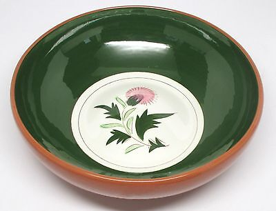 Stangl Pottery - Thistle - Salad Serving Bowl