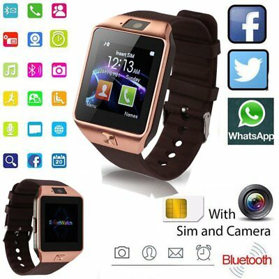 Sport Watch Smart Bluetooth SIM Card Fitness Bracelet Phone For IOS Anroid DZ09