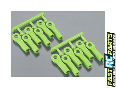 RPM R/C PRODUCTS 80514 Rod Ends Long Green Traxxas - $9 31