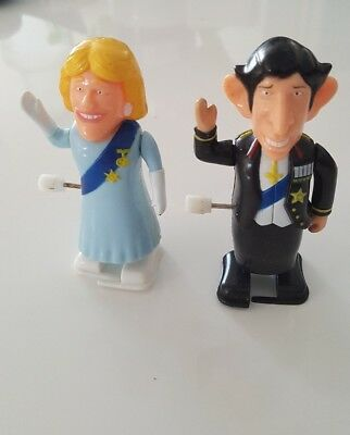 Collectable Royal wind up toys - Charles & Camilla
