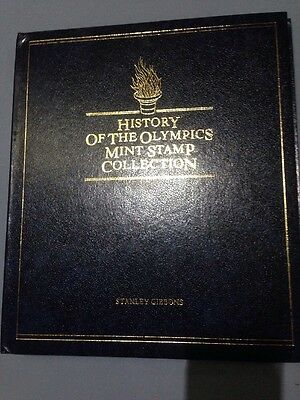 History Of The Olympics Mint Stamp Collection